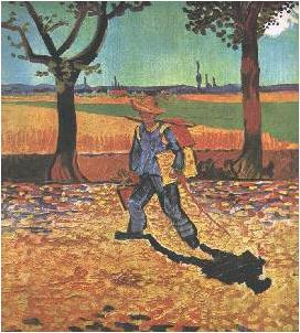 The Painter on the Road to Tarascon