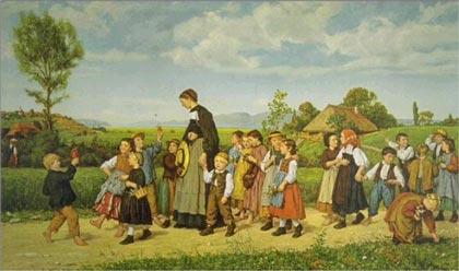 The Sunday School Walk