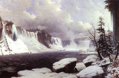 Winter at Niagara Falls