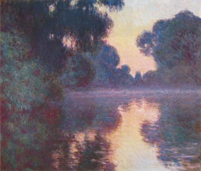 Branch of the Seine near Giverny at Sunrise