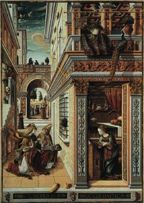 Annunciation with Saint Emidius