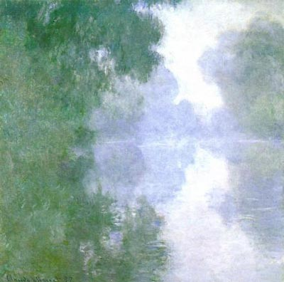 Branch of the Seine near Giverny in the Fog