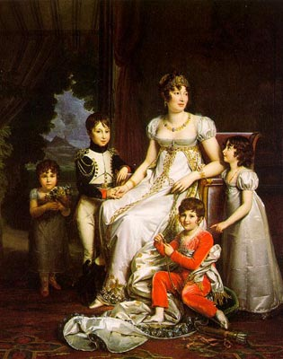 Caroline Murat and her Children