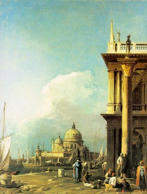 Entrance to the Grand Canal from the Piazzetta