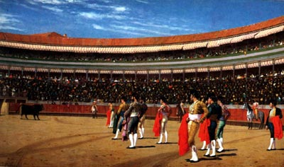 Plaza de Toros : The Entry of the Bull