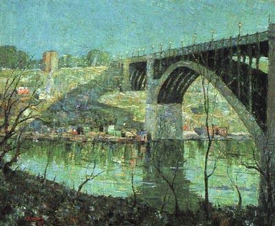 Spring Night at Harlem River