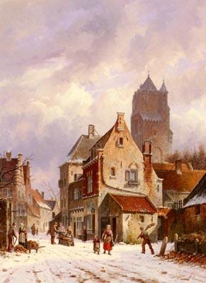A Winter Street Scene