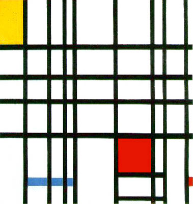 Composition with Red, Yellow, Blue