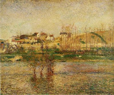 Flood in Pontoise