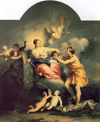 Juno Receives the Head of Argus