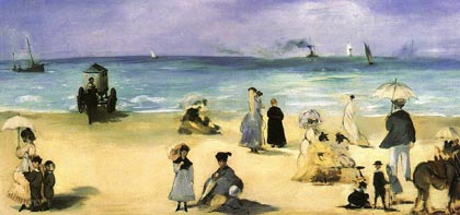 On the Beach at Boulogne