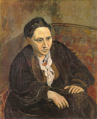 Portrait of Gertrude Stein