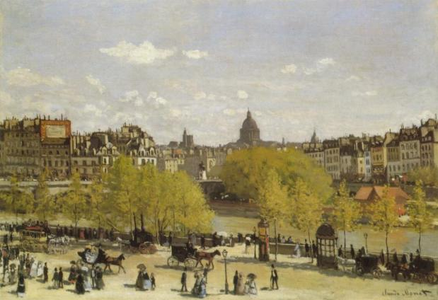 Quai du Louvre, The