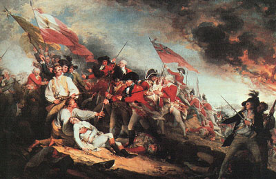 The Death of General Warren at the Battle of Bunker Hill on 17 June 1775, 1786
