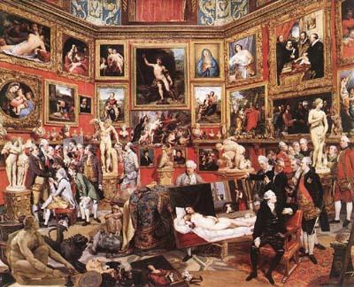 The Tribuna of the Uffizi