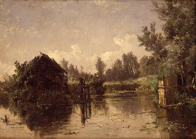 Abandoned Canal. Vriesland (Holland)