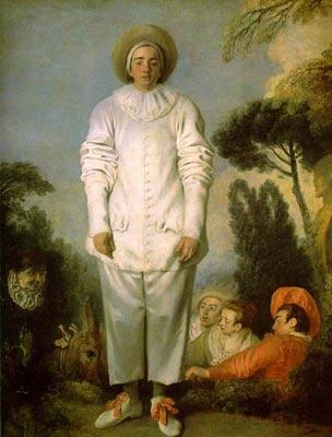 Gilles as Pierrot
