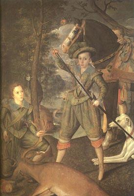 Henry Frederick, Prince of Wales and Sir John Harington