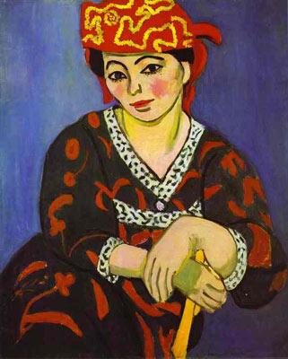 Madame Matisse: madras rouge