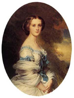 Melanie de Bussiere, Comtesse Edmond de Pourtales