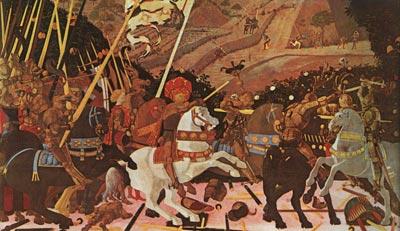 Niccolo Mauruzi da Tolentino at The Battle of San Romano