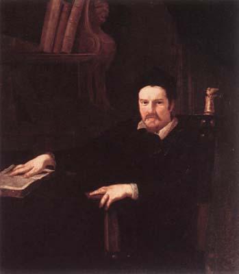 Portrait of Monsignor Clemente Merlini
