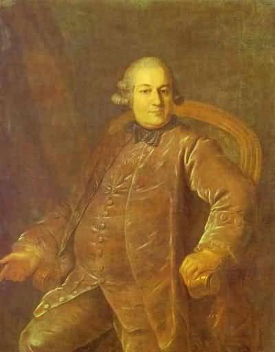 Portrait of P. I. Vyrubov