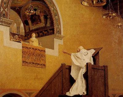 Saint John Chrysostom and Empress Eudoxie