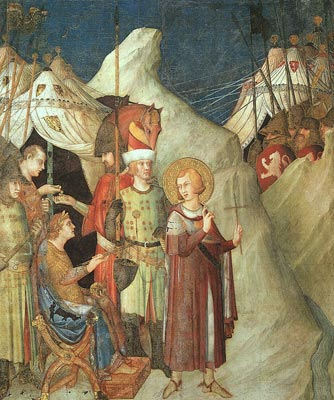 St.Martin Renouncing the Sword