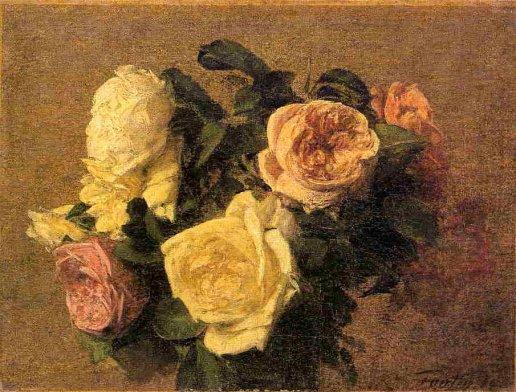 Henri Fantin-Latour - Roses 12