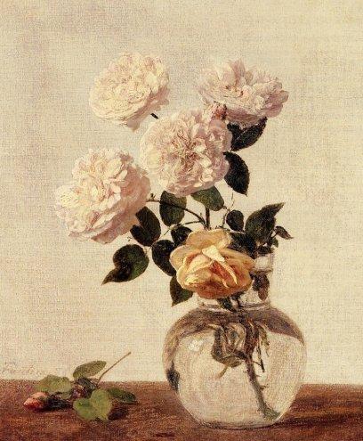 Henri Fantin-Latour - Roses 11