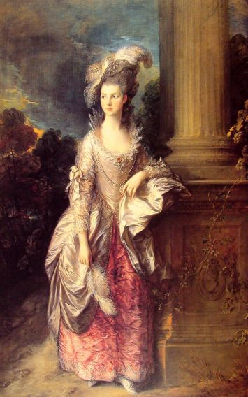 Thomas Gainsborough - Mrs Graham 2