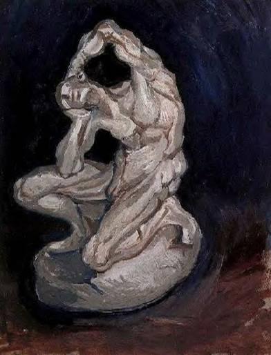 Vincent van Gogh - Plaster Statuette of a Kneeling Man