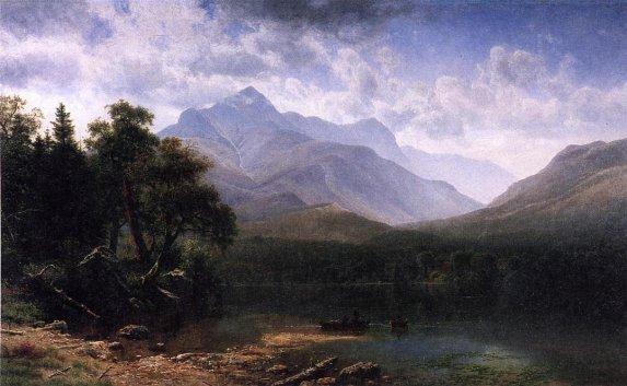 Albert Bierstadt - Mount Washington