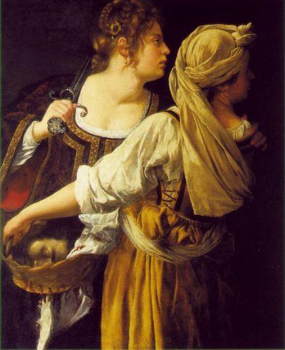 Artemisia Gentileschi - Judith and