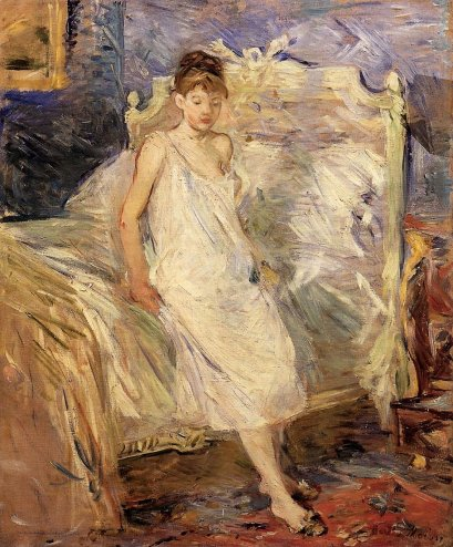 Berthe Morisot - Getting Up