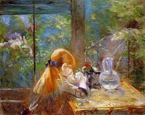 Berthe Morisot - On the Veranda