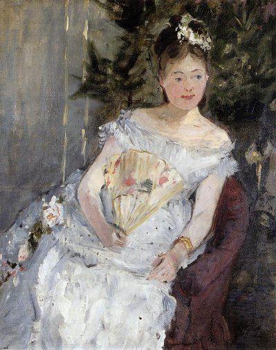 Berthe Morisot - Portrait of Marguerite Carre