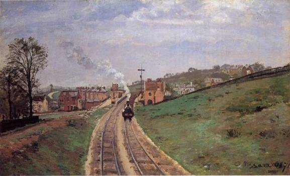 Camille Pissarro - Lordship Lane Station, Dulwich