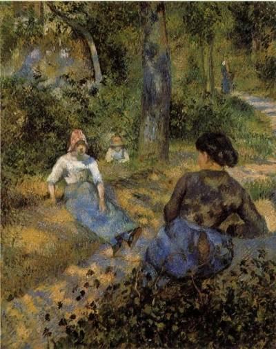 Camille Pissarro - Peasants Resting