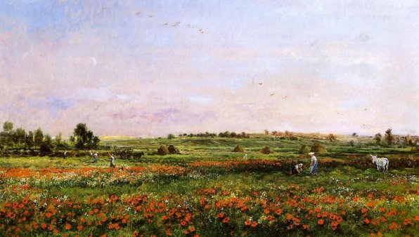 Charles-Francois Daubigny - Fields in the Month of Jun