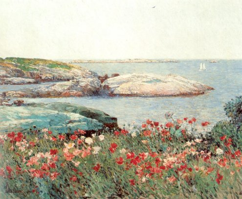 Childe Hassam - Poppies, Isles of Shoals 1891