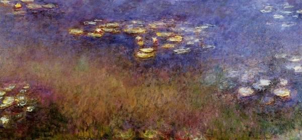 Claude Monet - Agapanthus 2
