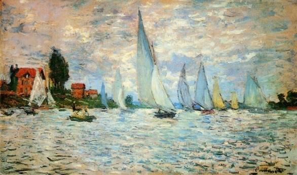 Claude Monet - Regatta at Argenteuil 2