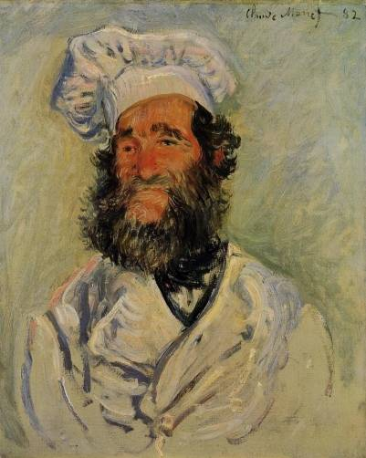 Claude Monet - The Chef, Pere Paul