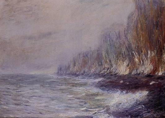 Claude Monet - The Effect of Fog near Dieppe