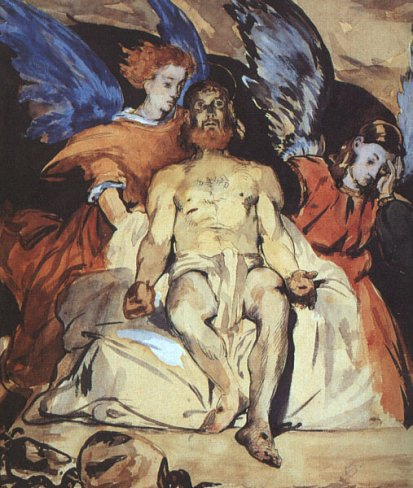 Edouard Manet - Christ with Angels