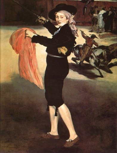 Edouard Manet - Mlle Victorine in the Costume of an Espada