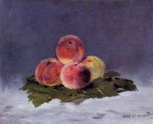 Edouard Manet - Peaches