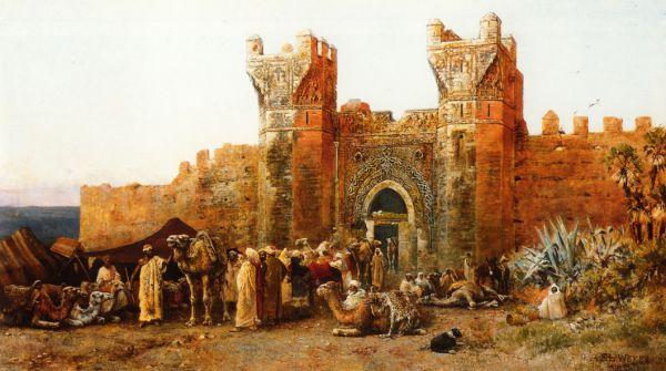 Edwin Lord Weeks - Gate Of Shehal Morocco